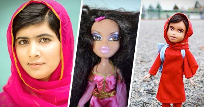 artista transforma muñecas en mujeres inspiradoras