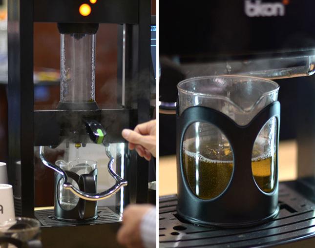 maquina que prepara té