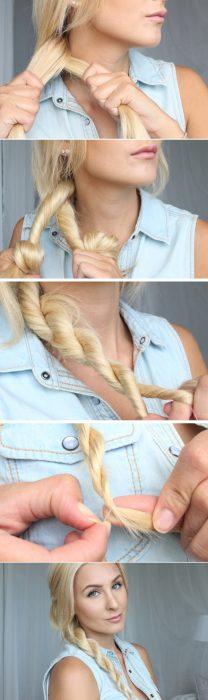 Peinado fácil y en pocos minutos