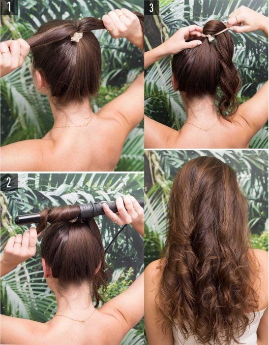 Peinado que fácil que puedes hacer n poco tiempo