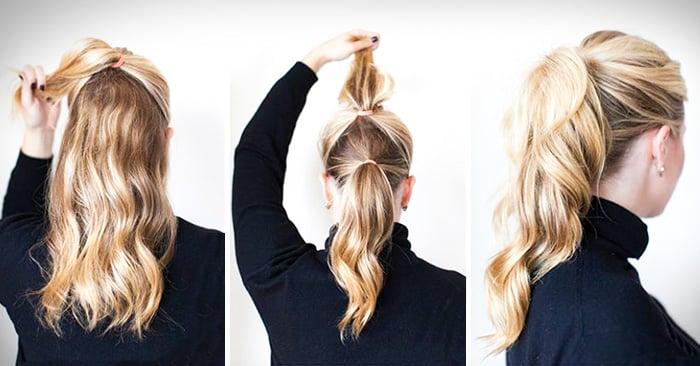 ideas de peinados fáciles para mujeres