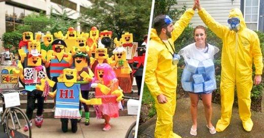 ideas para disfrazarse en grupo en halloween