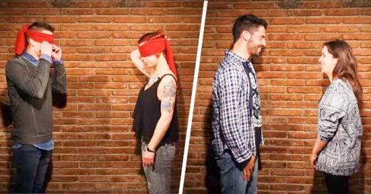 video con reacción de personas que se reencuentran con su primer amor