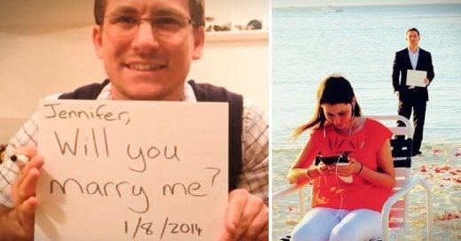 hombre le propone matrimonio a su novia 365 días seguidos