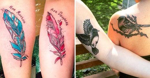 ejemplos de tatuajes entre madre e hija