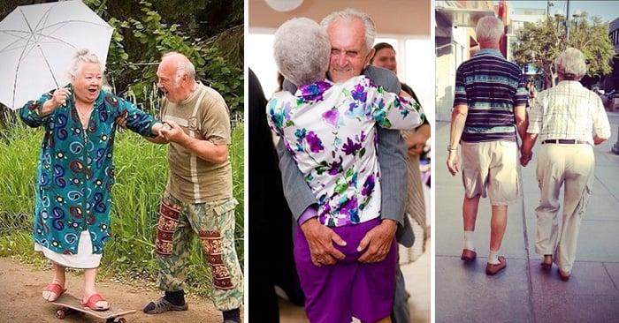 parejas de ancianos que aun se demuestran su amor