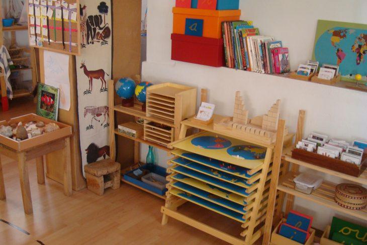 Aula típica Montessori