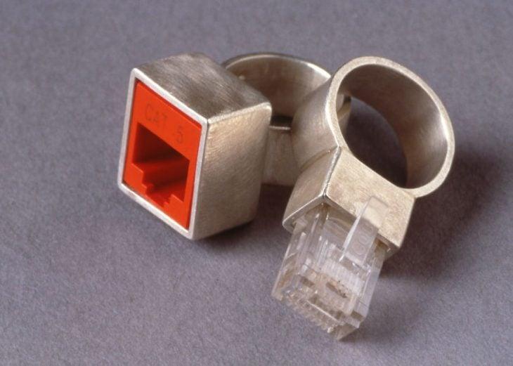 anillos de promesa conexión telefónica