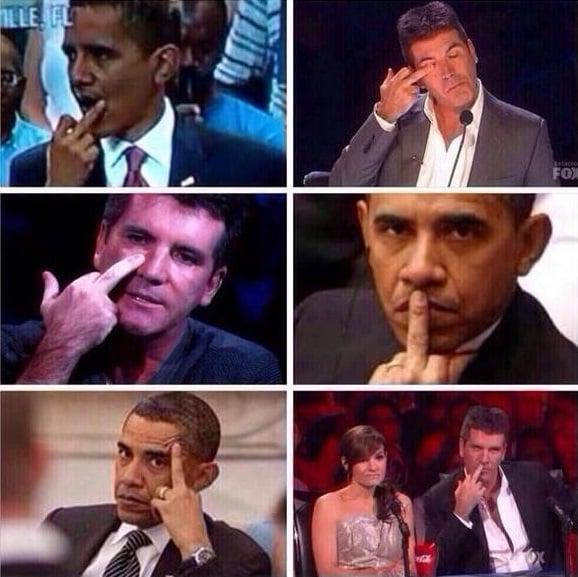 fotografías hombres haciendo señales con la mano