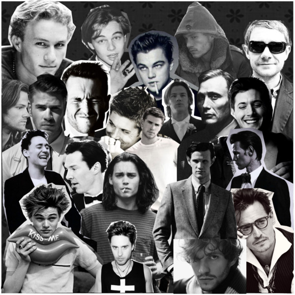 collage actores 90s