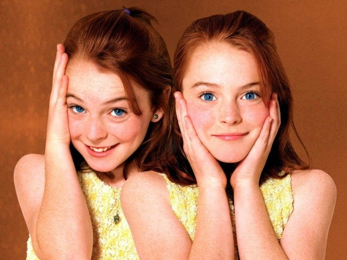 gemelas de la película The parent trap