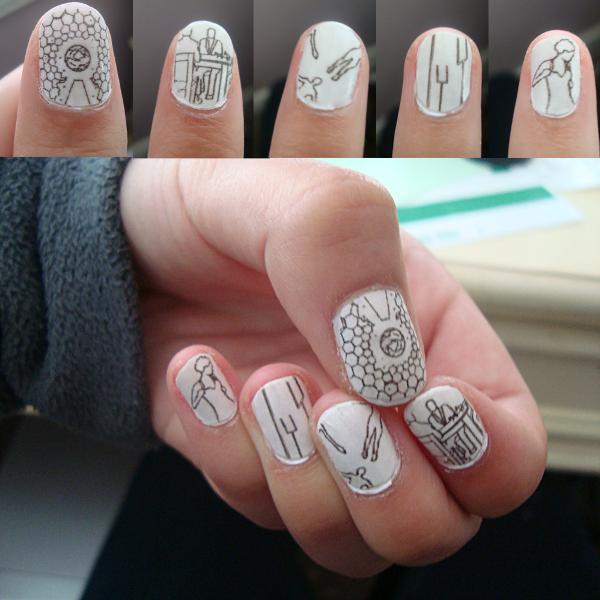 arte de uñas muse