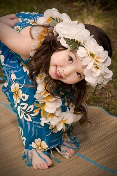 niña hawaiana