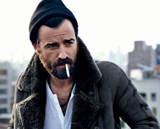 modelo barba y gorro