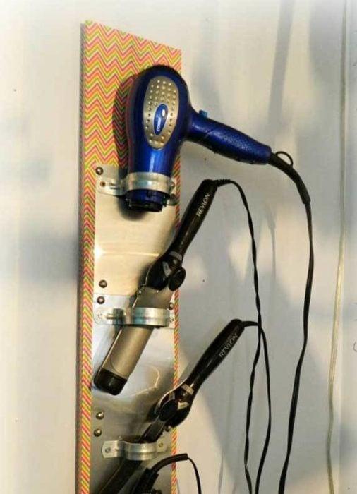 argollas de metal para utensilios para el cabello