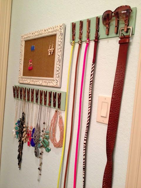 20 ingeniosas ideas que te ayudar n a organizar tu hogar - Percheros de pared originales ...