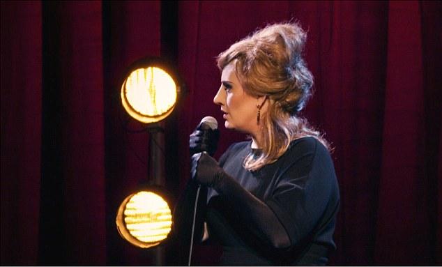 Adele cantando