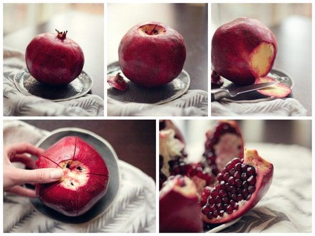 Alimentos que has pelado mal toda tu vida. Como pelar una granda