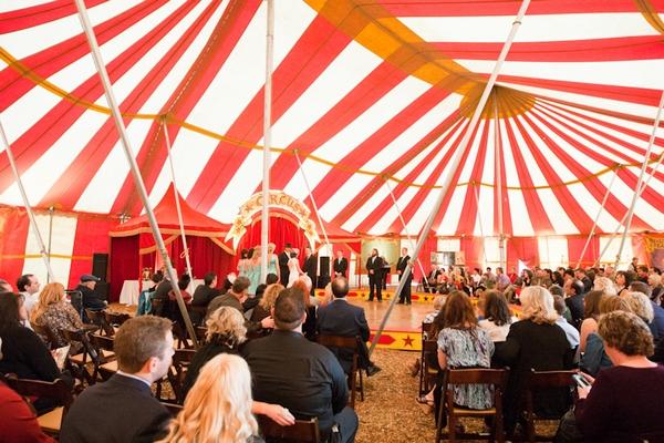 carpa boda circo vintage