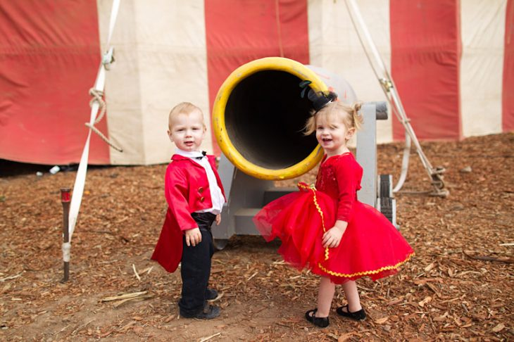 pajes boda circo vintage