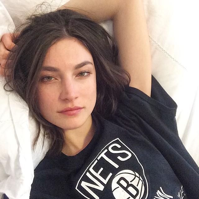 Modelo de victoria secret Jacquelyn Jablonski sin maquillaje