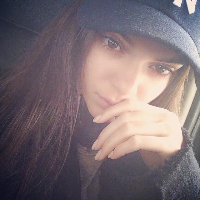 Modelo Kendall Jenner sin maquillaje