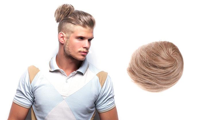 Nueva tendencia de chongos postizos para hombres