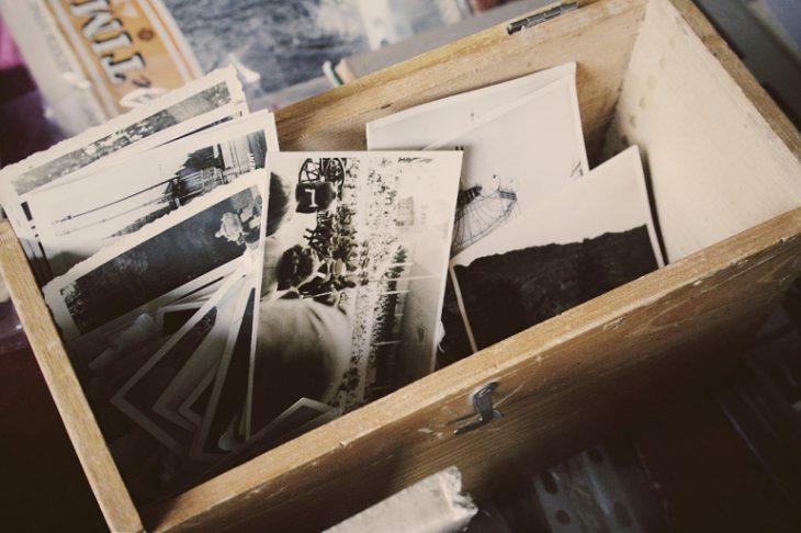 Caja llena de recuerdos