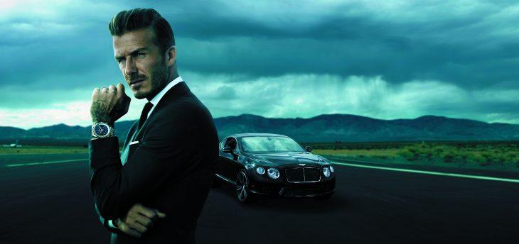 David Beckham elegante