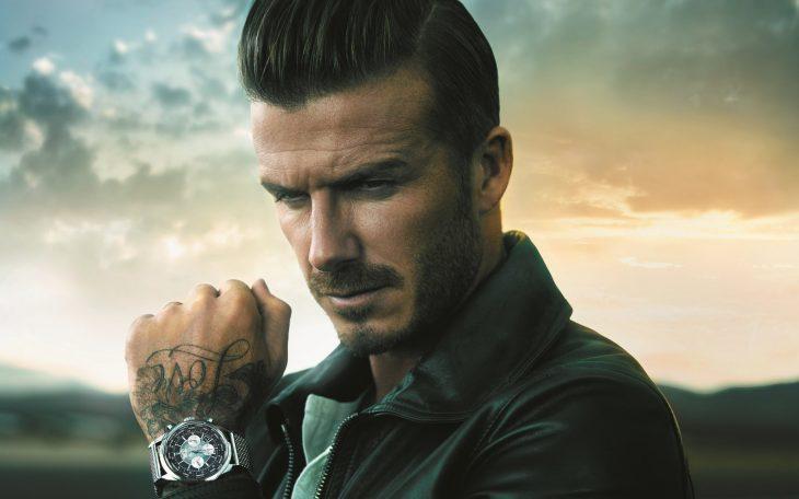 David Beckham pensativo