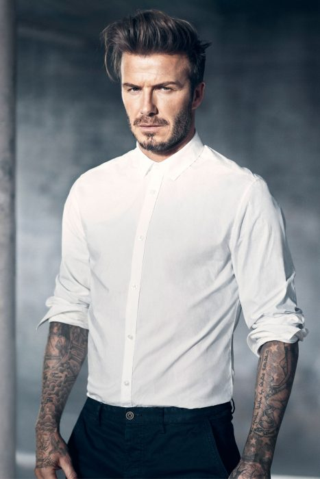 David Beckham de vestir