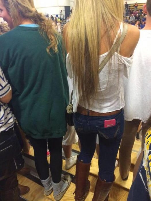There are two types of girls when they attend school