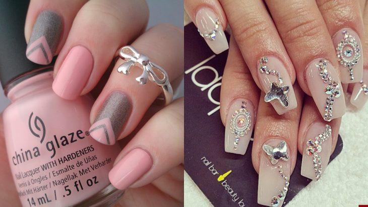 Existen dos tipos de chicas las que prefieren las uñas al natural y con piedras