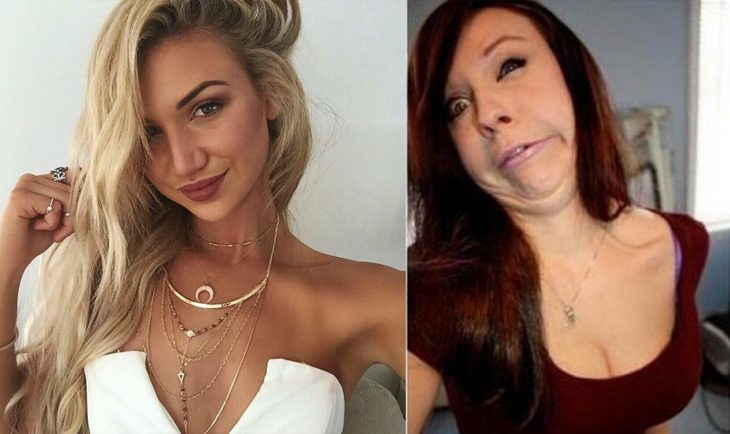 Existen dos tipos de chicas al tomarse una selfie
