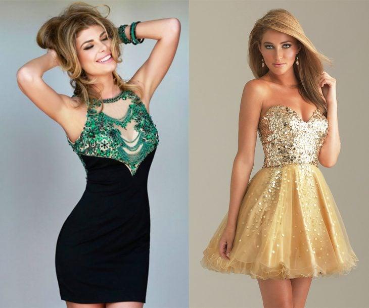 Existen dos clases de chicas en el mundo las que usan vestidos entallados y las que usan vestidos con holanes