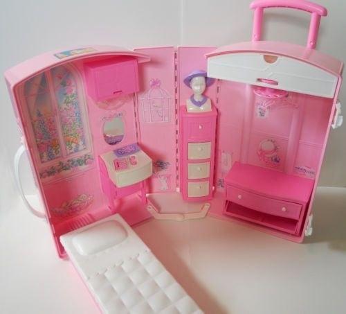 Casa maleta de barbie