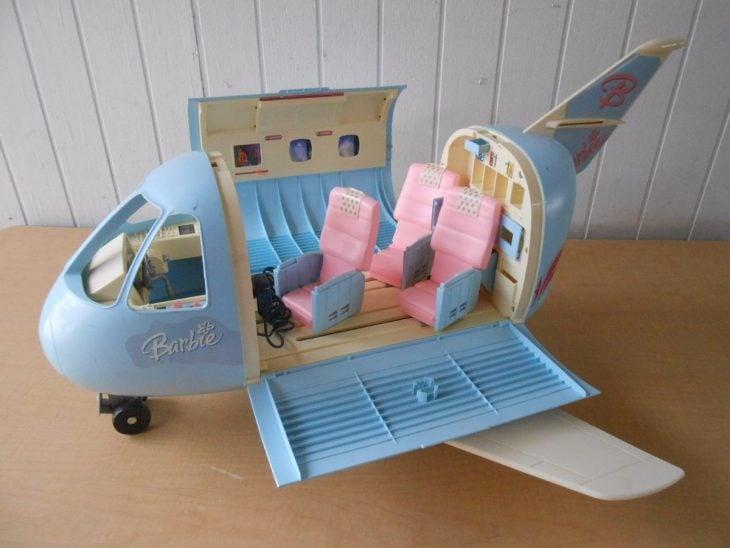 Avión de barbie de los 90's