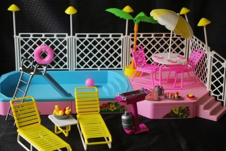 Set de playa de barbie