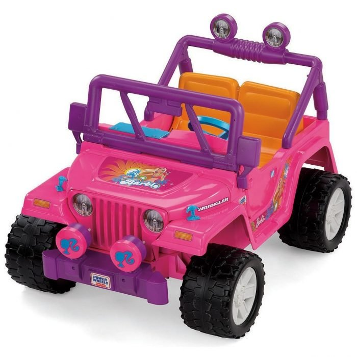 Jeep power wheels de barbie