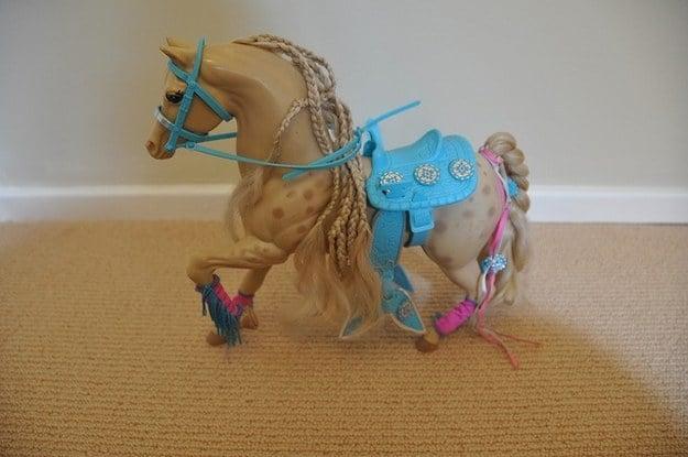 Caballo de barbie