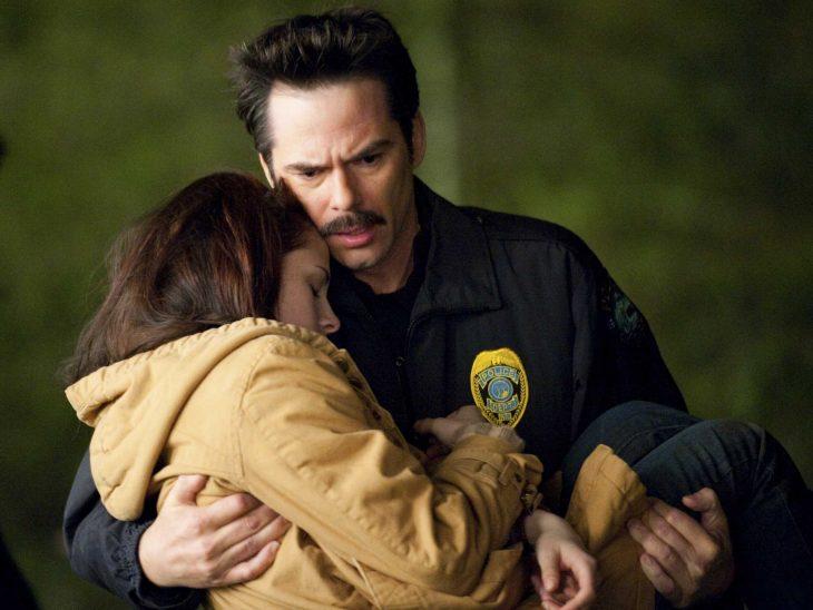 Escena de la película Crepúsculo