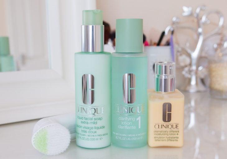 Productos para el cuidado de la piel de Clinique