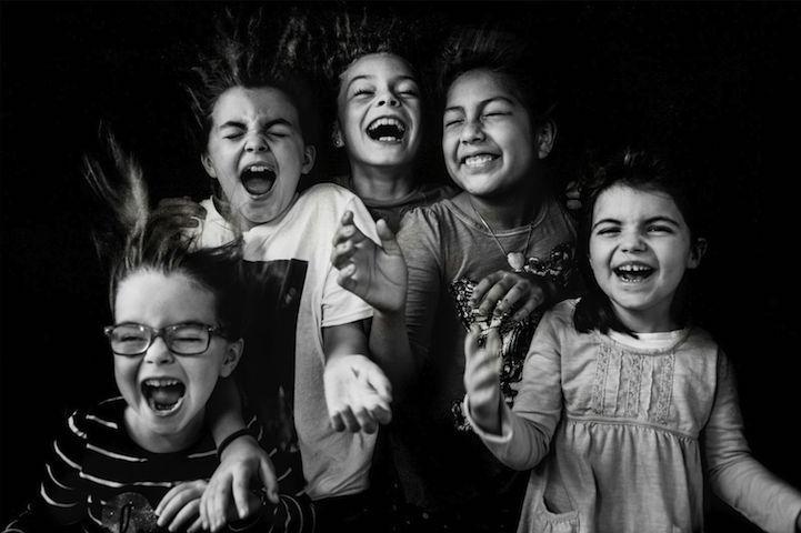 fotografías Kate T. Parker niñas sonriendo