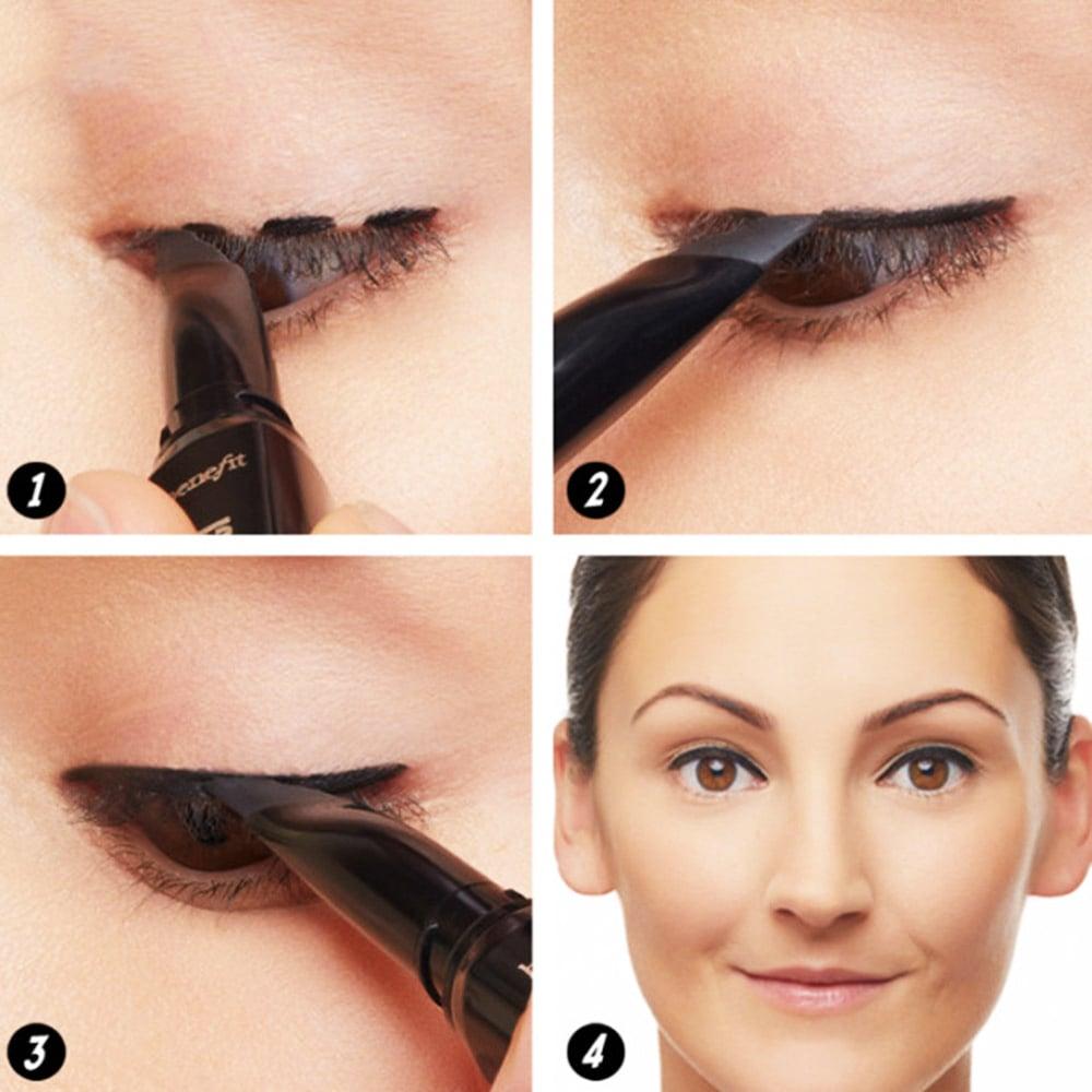 Как правильно подводить глаза карандашом схема6