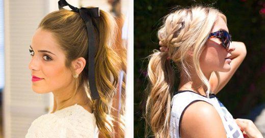 Tips para conseguir el mejor peinado con la clásica 'cola de caballo'