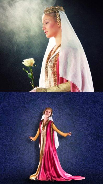Princesas de Disney en su época real, aurora de la bella durmiente