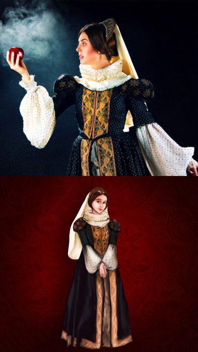 Princesas de Disney en su época real, Blancanieves