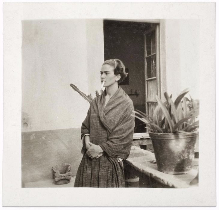 Frida Kalho en la Casa Azul, 1930