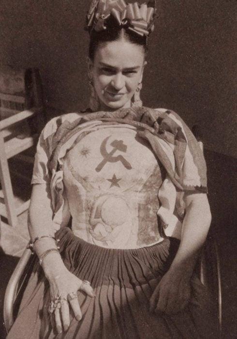 Frida Kahlo, fotografía por Florence Arquin en 1941