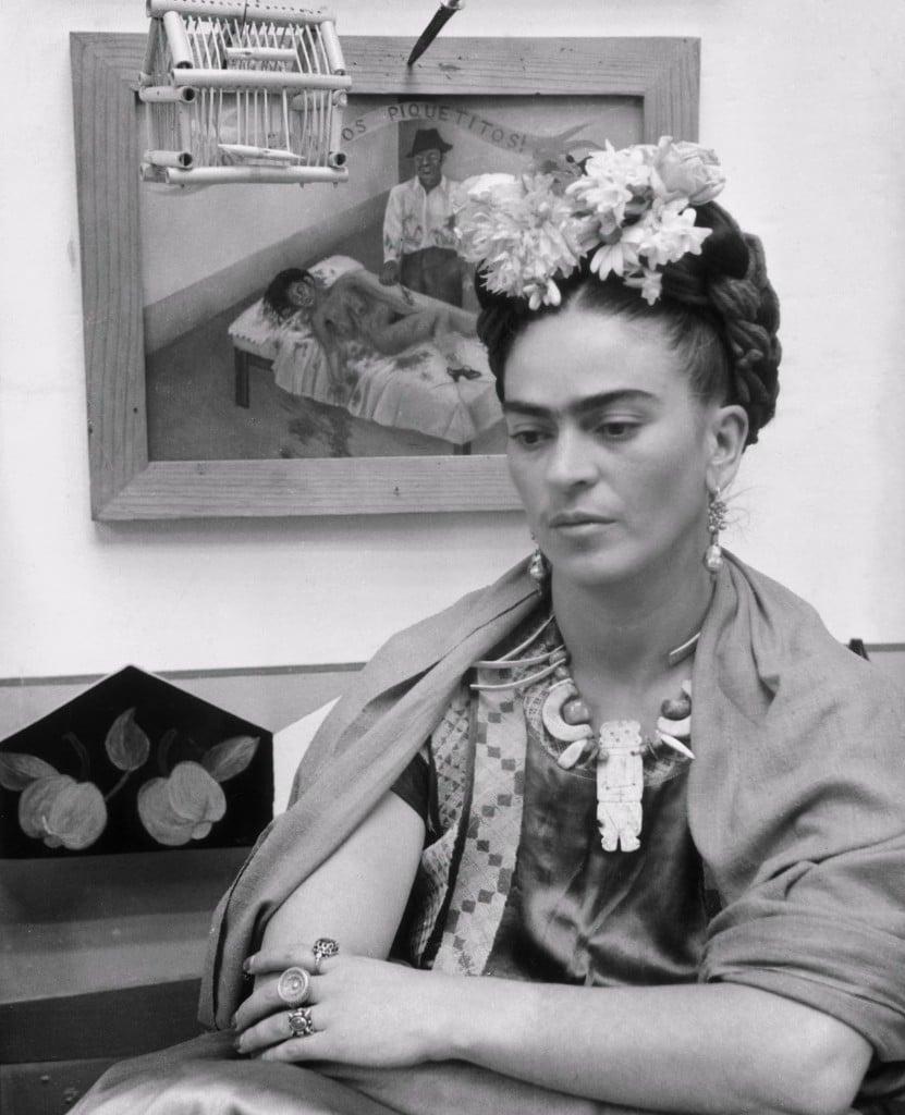 Conoce La Vida De La Artista Frida Kahlo En 20 Fotografias